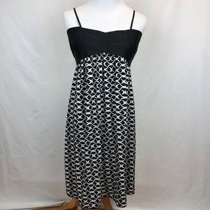 MAX STUDIO Crossfront Knee Length Dress Size Large